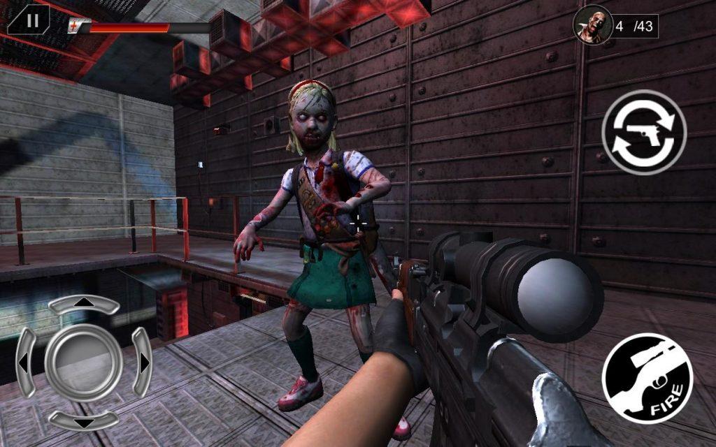 Descargar Zombies Peligrosos disparos para Android