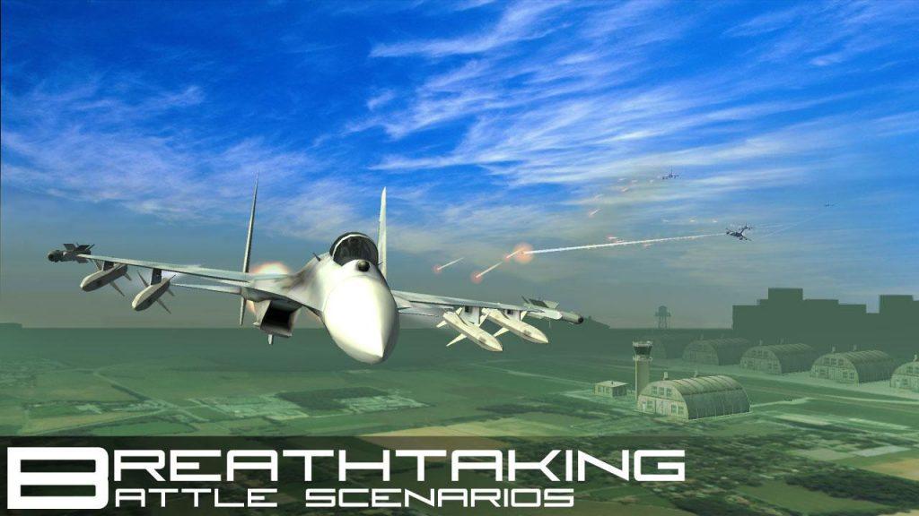 Descargar juego de jets y guerra para Android