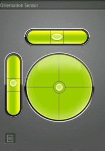 Aplicaciones para detectar el sensor giroscopio.