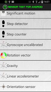 Testeo y pruebas de sensores en Android para calibrar.
