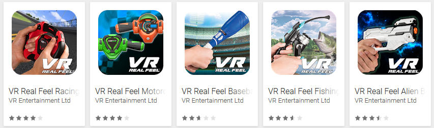 Descargar juegos VR Feel Baseball – Fishing – Alien Blasters
